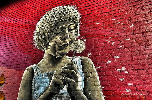 Alley art 20 by Wesley Allen Shaw