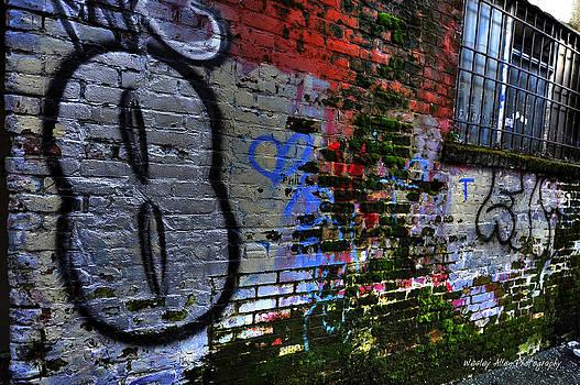 Alley Art 4 by Wesley Allen Shaw