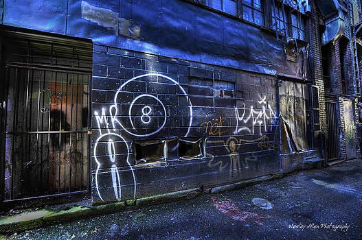 Alley Art 6 by Wesley Allen Shaw