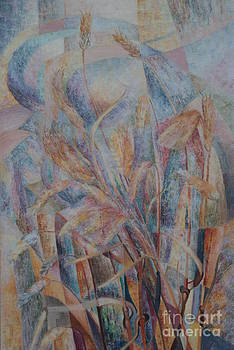 Amber Waves Of Grain by William Ohanlan