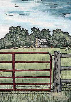 Americana No.8 Gate No.14 by Sheri Parris