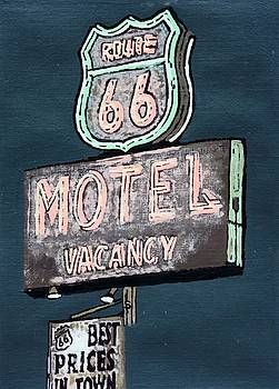 Americana No.9 Route 66 No.2 by Sheri Parris