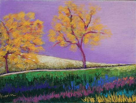 Amish Trees by Karin Eisermann