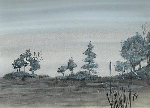 Robert Meszaros - among the cattails... no. two
