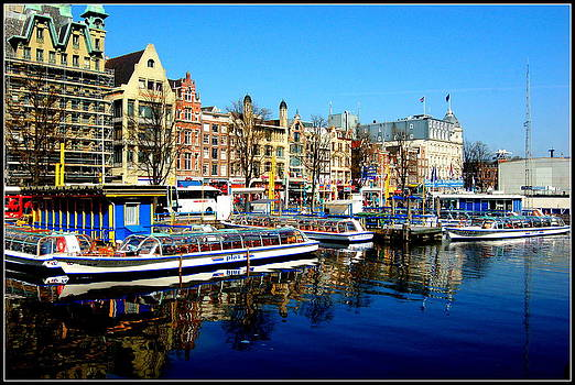 Amsterdam by Blue Curtain