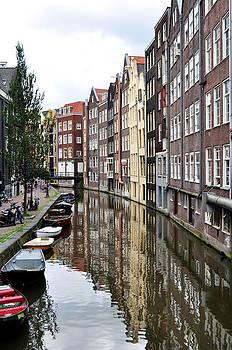 Amsterdam buildings. by Fernando Barozza