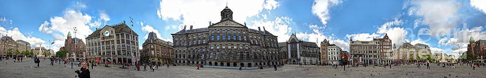 Gregory Dyer - Amsterdam - Dam Square - 02