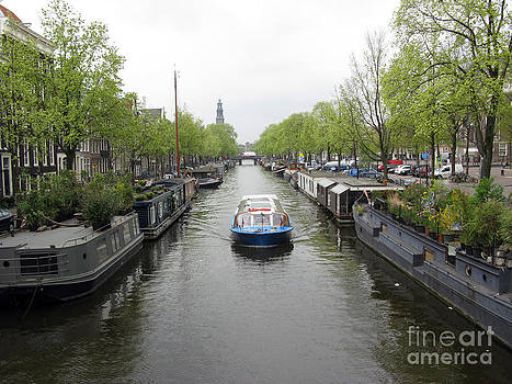 Amsterdam in Spring 02 by Ausra Huntington nee Paulauskaite