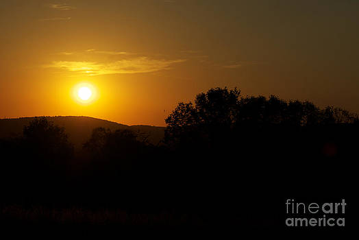 An Alexandria Sunset by Thomas Luca