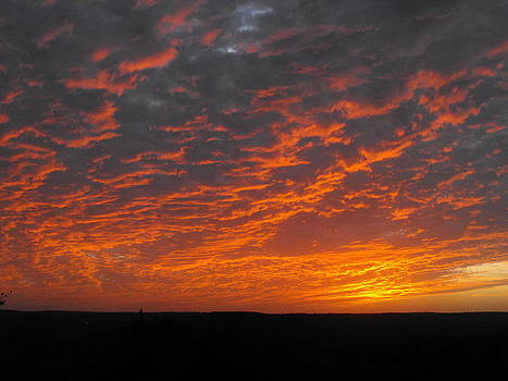 An Awesome Texas Sunset by Rebecca Cearley