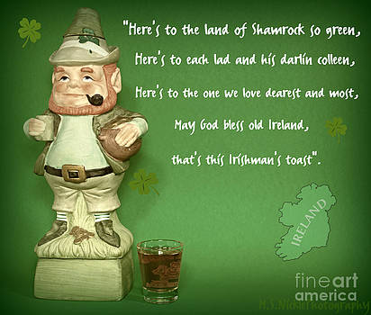 An Irish toast by Melissa Nickle