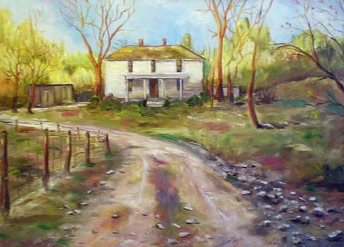 An Old Homestead by Carole Powell