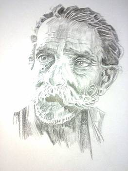An Old Man by Bharati Subramanian