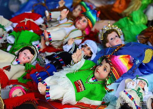 James Brunker - Andean Baby Jesus Figures