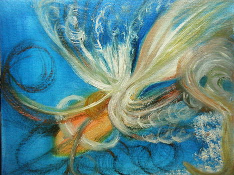 Angel Fishing by Nancy L Jolicoeur