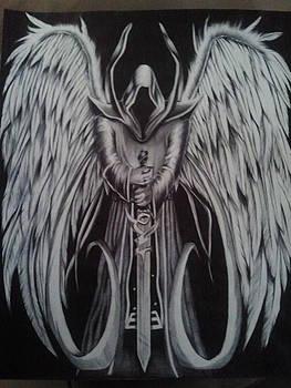 Angel of Death  by Maritza Montnegro