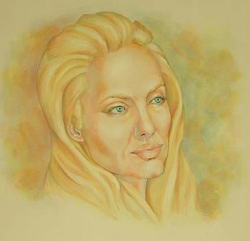 Angelina Jolie by Nasko Dimov