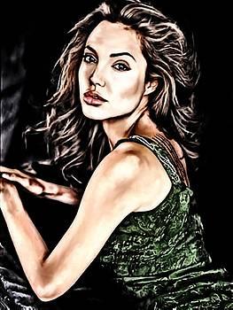 Angelina Jolie by Shannon  Jordan