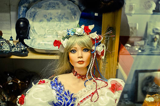 Antique Doll by Simon Clare
