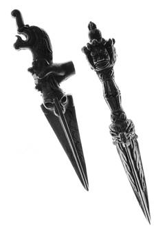 Antique Indian Fighting Dagger by Floyd Menezes