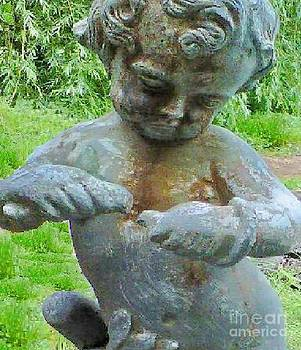 Antique Putto by Marybeth Friel-Patton