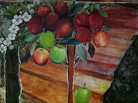 Apple For My Child Hood by Giti Ala