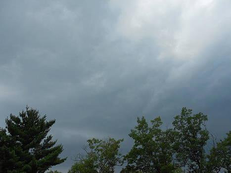 Approaching Thundershower by Lila Mattison