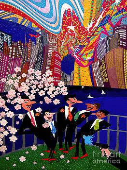 April In New York by Johny Deluna