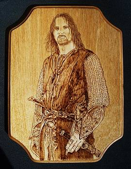 Aragorn of Lord of the Rings by Bob Renaud