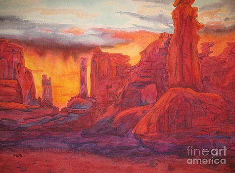 Arch Elements In Time  by Vikki Wicks