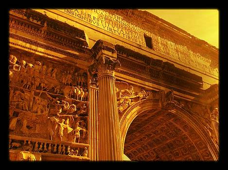 Arch of Septimius Serverus by Shelley Smith