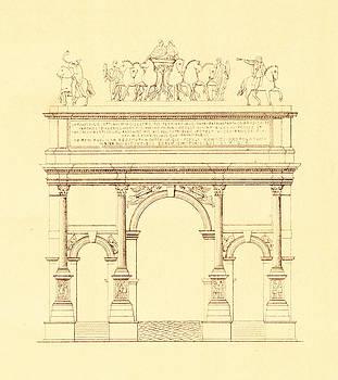 Pictus Orbis Collection - Arch of Septimius Severus in Rome Italy