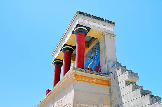 Archaeological site of Knossos. Minoan Palace. Crete. by Fernando Barozza