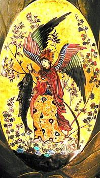 Archangel Raphael by Yildiz Ibram