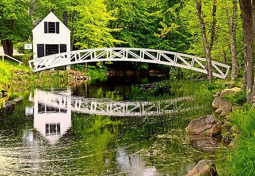 Thomas Schoeller - Arched Bridge-Somesville Maine
