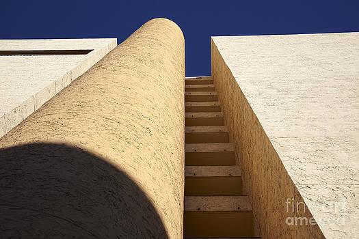 Architectural abstract by Tony Cordoza