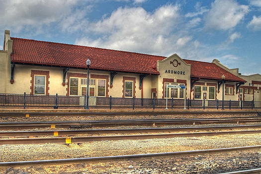 Ardmore Depot by Terry Hollensworth-Rutledge