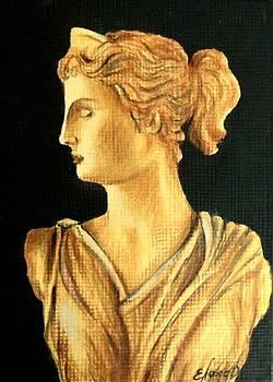 Artemis Goddess by ELena Day