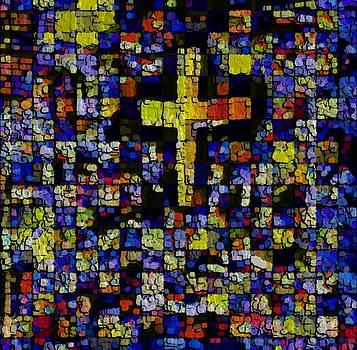 Artistically Spirited Cross by Rod Saavedra-Ferrere