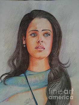 Ashwariya Rai Bachchan by Sandeep Kumar Sahota