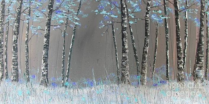 Aspen Blue by Trudy Kepke