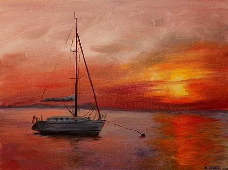 At Anchor by Donna Teleis