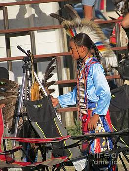 At Blackfeet Pow Wow 03 by Ausra Huntington nee Paulauskaite
