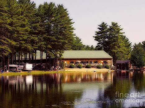 At The Lake by Pat Carosone