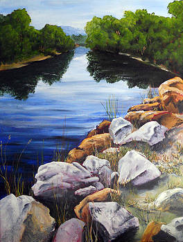 At The Rocks by Carol McLagan