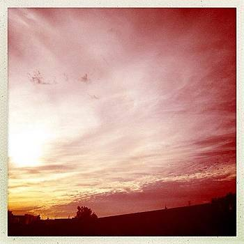 #atardecer #sunset #nubes #azotea by Fernando Barroso