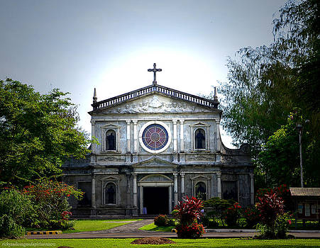 Ateneo de Naga University Church by Enrique Rueda