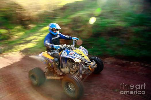 Gaspar Avila - ATV off-road racing