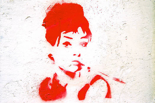 Audrey Hepburn by Claude Taylor