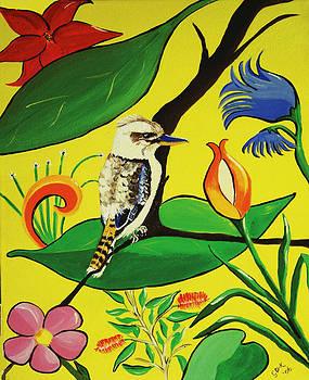 Australian Kookaburra by Gloria Dietz-Kiebron